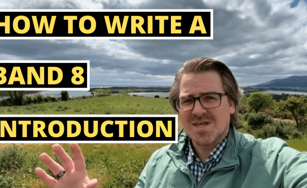 HOW TO WRITE A BAND 8 INTRODUCTION