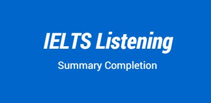 IELTS-Listening-Summary-Completion1