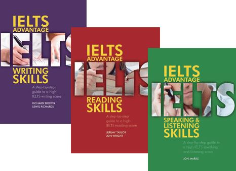 IELTS preparation books 3