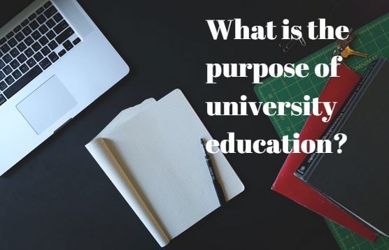Some-people-beleive-the-aim-of-university-education Aim of Education - IELTS Task 2 Sample Answer