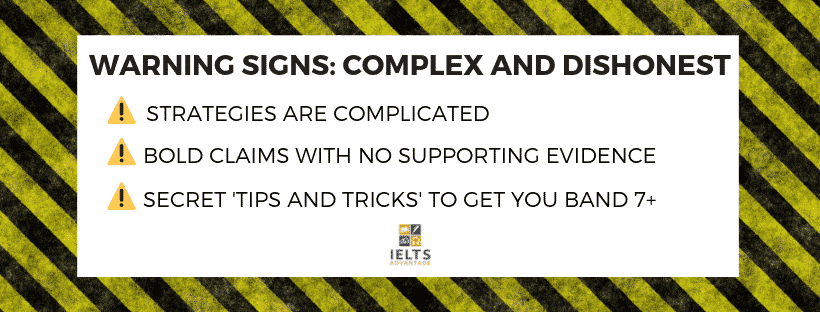 Image: signs-of-an-ielts-scam-complex